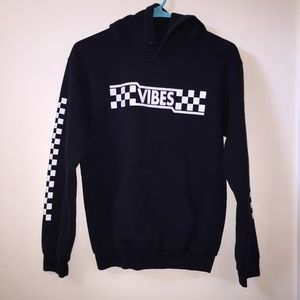 Vibes Checkered Hoodie